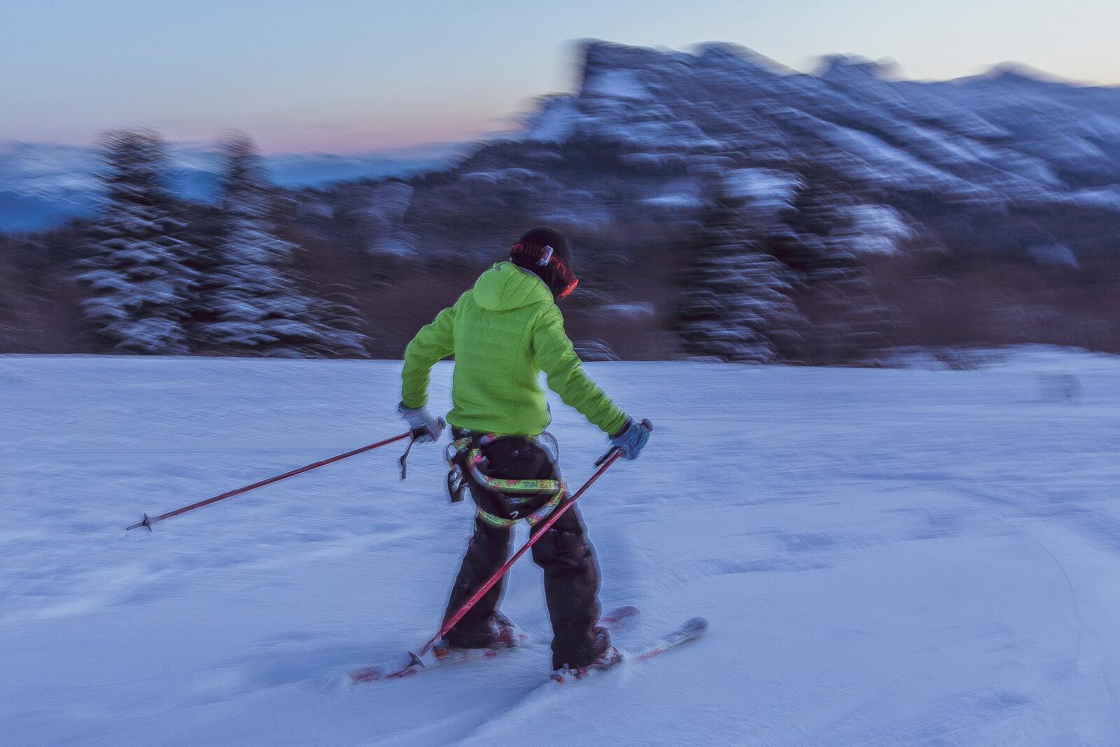 Le ski de rando avec des enfants