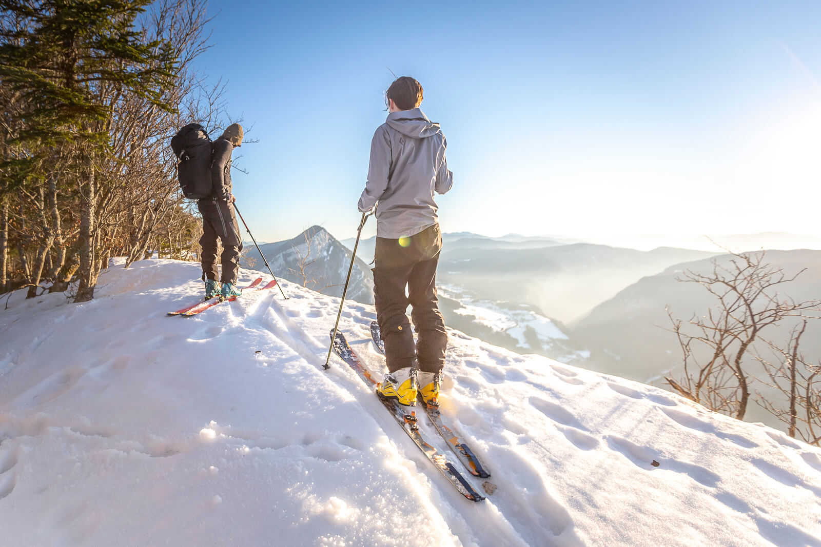 Ski de rando avec des enfants