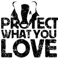 Logo Protect what you love Petit Bivouac
