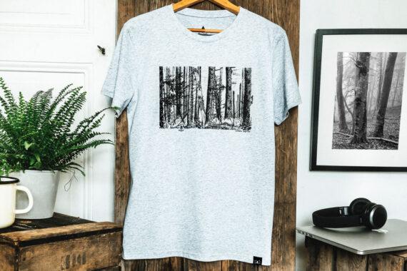 T-shirt bio homme - Forêt - Petit Bivouac