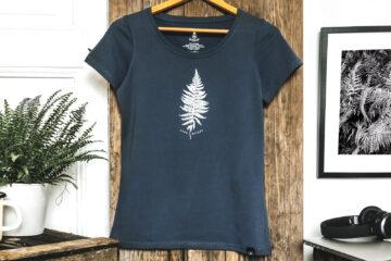 T-shirt femme bio - Petit Bivouac - Love Nature