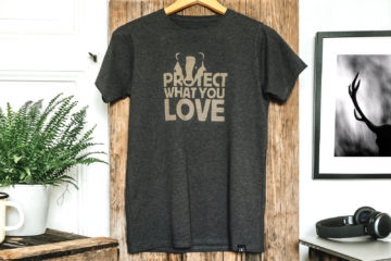 T-shirt enfant bio - Petit Bivouac - Protect What You Love