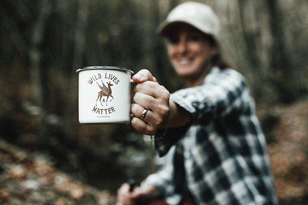 Mug - Wild Lives Matter - Petit Bivouac marque engagée pour la protection de la nature