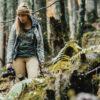 T-shirt Femme Bio - Love Nature - Vert mousse - Petit Bivouac