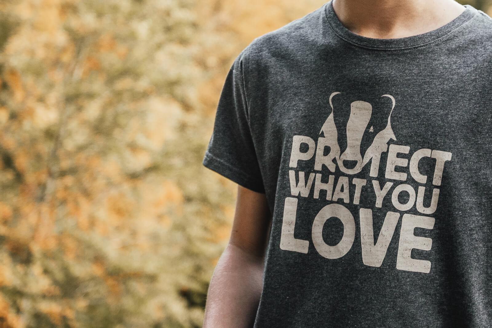 Simon-T-Shirt-Protect-Gris-ardoise-chiné-3