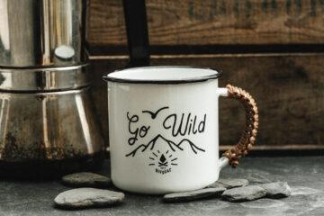 Mug métal émaillé - Go Wild - Petit Bivouac