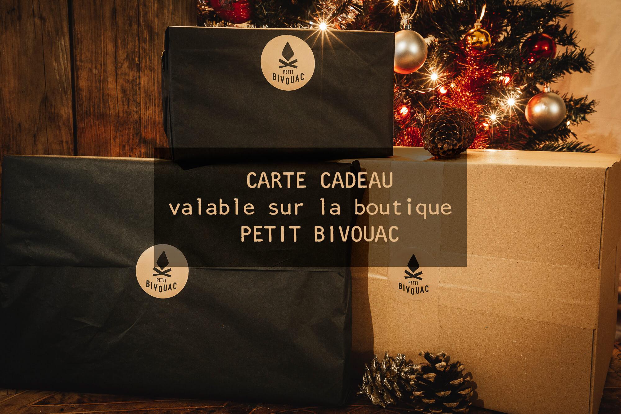Carte cadeau Petit Bivouac
