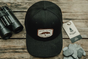 Casquette Nature Inspired in Black