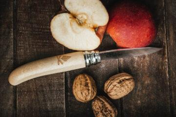 Couteau de poche hêtre Petit Bivouac