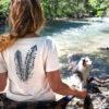 t-shirt bio femme Plumes Petit Bivouac