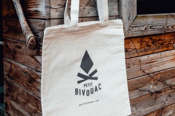 Tote bag Petit Bivouac Coton bio made in France